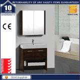 Hot Sale Melamine Bathroom Vanity Unit with Mirror Cabinet