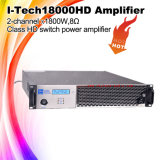 2X1800W Digital Professional Power Amplifier I-Tech18000HD