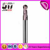 Jinoo 2/4 Flutes Tungsten Carbide Ball Nose End Mill