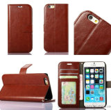 PU Leather Wallet PU Phone Case for iPhone 8