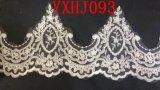 Elegant Lace Tulle with Long Jacket Wedding Dresses