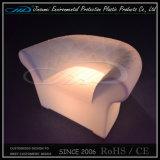LED Lighting Plastic Outdoor Furniture Set for Restaurant