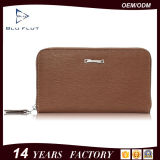 Genuine Cow Leather Card Wallet New Fashion Zip Men Handbags