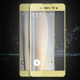2.5D Silk Printing Mobile Phone Tempered Glass Film for Sony Xperia Xa Ultra