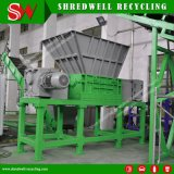 China Waste Tire Shredder with Trommel for Recycling Scrap Tyre Used as Tire Derived Fuel
