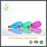 St40 7W String Light Christmas Light Incandescent Bulb Faceted Bulb