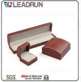 Leather Velvet Jewelry Storage Box Jewelry Bangle Bracelet Pendant Packing Gift Box (YS95)