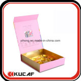 Custom Foldable Paper cosmetic Packaging Box with Plastic Tray