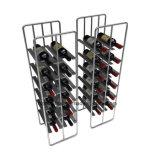 Supermarket Metal Wine Display Rack for 20 Bottle Wine Holder