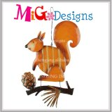 Wholesale Harvest Squirrel Metal Wall Decor