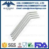 Customized Size and Color Bent Silicone Straw for Tumbler