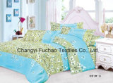 China 100% Polyester Microfiber Printed Bedding Set Used for Home or Hotel