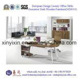 L-Shape Manager Office Table Modern Melamine Office Furniture (M2601#)