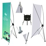 Budget X Banner Stand with Free Banner & Travel Bag