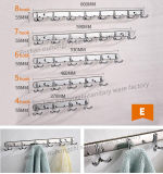 High Quality New Design Double Robe Hook for Kitchen (S-E)
