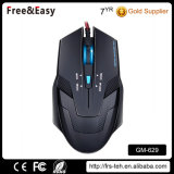Colorful LED Backlit USB Wired 6D Ergonomic Gaming Mouse