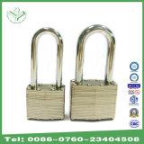 (740LSN) 40mm Nickel Plating Long Shackle Laminated Steel Padlock