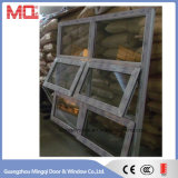 Good Quality UPVC Glass Top Hung Window for Building
