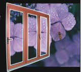 Wood-Clad Folding Door With Different Colors (Lm72)