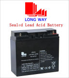 12V18ah/20hr Toys UPS Sealed Lead-Acid Battery for Emergency Lighting