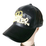 Leather Baseball Cap in 2 Tones (LT-2)