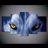 HD Printed Wolf Eyes Group Painting Canvas Print Room Decor Print Poster Picture Canvas Mc-016