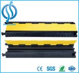 2 Channel Rubber Cable Protector Ramps Cord Cover