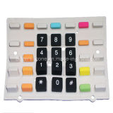 Silicone Rubber Double Color Keypad