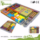 2017 Funny Jumping Indoor Trampoline Park for Family