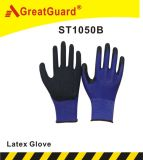 13G Liner Crinkle Surface Glass Gripper Glove (ST1050B)