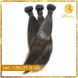 Unprocessed Virgin Remy Peruvian Human Hair Extension Silky Straight