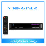 Original Zgemma-Star H1 Twin Tuner Enigma2 DVB-S2+C Digital Satellite Receiver