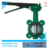 DIN, Bsen, ANSI Standard, Butterfly Valve Wafer Type with Handle Bct-Wbfv-04