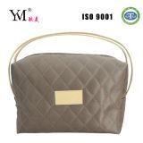 2014 Competitive High Quality Satin Zipper Cosmetic Handbag