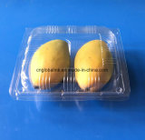 Plastic Fruit Packaging Container for Mango 2 Pieces Clamshells Blister Plastic Fruit Packaging Box
