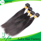 Aofa Hair Factory Wholesale Minimum Order Quantity Human Hair Wefts