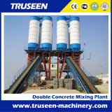 Large Capacity 240m3/H Double Concrete Batching Plant