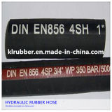 R1 R2 4sh Rubber Hydraulic Hose with Fittings