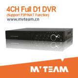 4CH 960h/Wd1 Standalone DVR with HDMI and P2p Function (MVT-6504D)