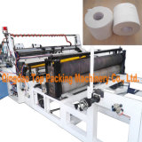 Toilet Tissue Rolls Rewinding Automatic Toilet Paper Making Machine