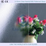 3-10mm Clear Nashiji/Obs Patterned Glass with ISO9001