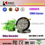 Roman Clock Style Digital Video Recorder Motion-Activated Camera