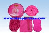 Microfiber Mitt, Wash Brush, Bucket, Car Cleaning Sponge Car Wash Sets Car Wash Equipment (CN1568)