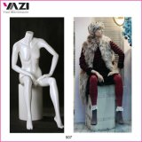 Sitting Style Female Mannequin by Fiberglass-507