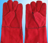 "14"" 16"" Safety Cow Split Leather Welding Gloves"