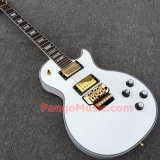 Pango Lp Custom Electric Guitar with Gold Floyd Rose Tremolo (PLC-028)