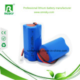 Triangle Rechargeable 12V 2000mAh Li-ion Battery for Lawn Lamp, Solar Panel