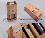 OEM Cheap Price Corrugated Two Bottle Wine Paper Box