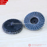 "2"" & 3"" Ceramic & Zirconia Abrasive Cloth Mini Flap Disc for Grinding"