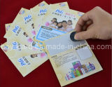 Scratch Prepaid Plastic Smart Card